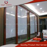 Opinión grande de la calidad estupenda puerta deslizante de aluminio de 120 series con los obturadores