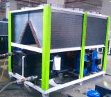 Refrigeratore raffreddato aria industriale di temperatura insufficiente del refrigeratore di acqua del glicol