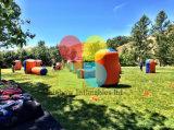 Nueva llegada de Paintball de inflables inflables bunkers de arena CS Tiro a la venta