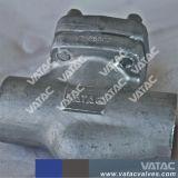 F304 flanschte Enden geschmiedetes Stahlrückschlagventil