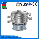 Farinha de aço inoxidável peneira vibratória rotativa circular para venda