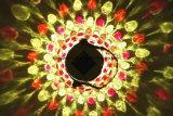 Lumière en verre solaire s'arrêtante extérieure de choc de diamant rouge