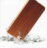 случай телефона способа деревянного зерна iPhone6/Plus Non-Slip Разрушать-Упорный