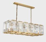 Candelabro de cristal da decoração elegante moderna da sala de jantar (GD18110P)