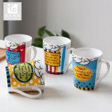 Insignia modificada para requisitos particulares de la taza de café de la impresión de la etiqueta 12oz/Company