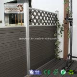 Plusieurs dessins WPC composite de bois de clôture de la vie privée