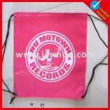 210d nylon polyester Football Sac avec lacet de serrage