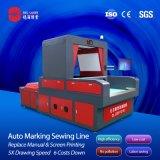 Equipamento para engraxar os materiais de impressão da linha do desenho máquina máquina de fazer da Sapata
