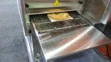 Horno comercial del transportador de la sola correa eléctrica del horno de la pizza