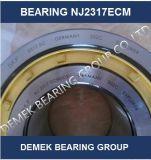 Rolamento de roletes cilíndricos de alta qualidade Nj2317 Ecmc3 Com compartimento de Latão