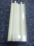 Profil d'aluminium de 6063 alliages/en aluminium d'extrusion avec le profil facultatif de couleurs