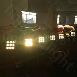 3X3 9PCS 12W de Matrijs die van RGBW Hoofd LEIDEN Blinder Licht bewegen