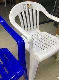 Silla plástica al aire libre del portamira de 1030 blancos de los muebles del jardín