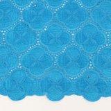 Tessile del tessuto del voile del cotone di colore dell'azzurro di cielo di Candlace per il panno di cerimonia nuziale