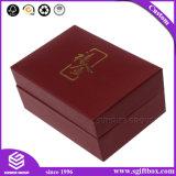 ネックレスまたはブレスレットのためのカスタマイズされた贅沢なハンドメイドのビロードの挿入宝石箱