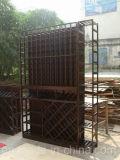 Personalizar madeira Wine Wine Storage Rack Cellar para móveis de casa