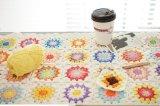 La fibra naturale tinta del filato per maglieria del bambino ha pettinato il filo 100% di cotone