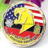 Militares de EE.UU. el esmalte de souvenirs personalizados Coin