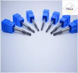 Cutoutil HRC55 Tialn покрывая длиннее R1.0*4*4D*75L*2f/4f для части &#160 CNC стали подвергая механической обработке; Торцевые фрезы носа шарика