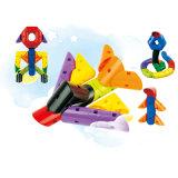 Baby-unregelmäßiges glückliches Baustein-Spielzeug
