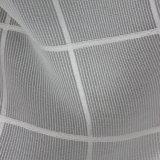 Grande tessuto 100% del plaid del cotone del Tartan di disegno della pianura di qualità