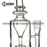 Pipe à eau en verre recyclé de haute qualité pour recyclage de pétrole (EY001)