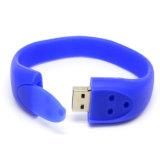 Promoção Presente Pulseira de pulseira disco USB para presente