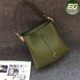 De nieuwe Eenvoudige Zakken van de Schouder van het Leer van de Handtas van de Vrouwen van de Stijl Zachte Echte voor Dames Emg4960