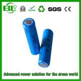 De China OEM / ODM fábrica Alta tasa 1860 2200mAh Li-ion de la batería para la linterna