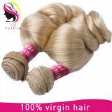 금발 머리 제품 613 색깔 느슨한 파 인도 사람의 모발 연장