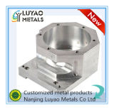 Kundenspezifischer Aluminium CNC, der für Maschinerie maschinell bearbeitet