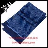 14 mm de alta moda de la tela cruzada de seda impresa de la bufanda con la borla