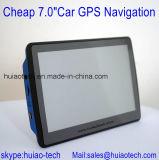 """Hete """" GPS van de Auto Verkoop Goedkope 7.0 GPS Navigatie Gezeten Nav van de Vrachtwagen van de Navigator met GPS Nav van 66 Kanalen Ontvanger, Bluetooth, aV-binnen; De Zender van de FM; De Camera van het parkeren; GPS Kaart"""
