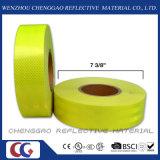 Verde amarillo fluorescente de Cinta de advertencia de reflectante para bus de la escuela (C5700-DE)