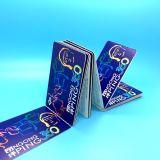 boleto de papel elegante EV1 RFID del transbordador ultraligero de 13.56MHz MIFARE