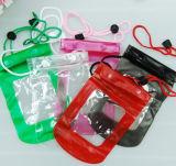 PVC携帯電話の漂う水泳防水袋