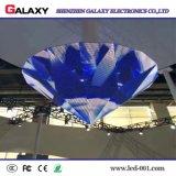 El panel suave/pantalla/visualización de la curva de interior/al aire libre LED de la alta definición ultrafina para la instalación fija
