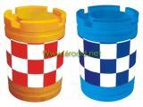 Tráfico de plástico Barrera de barril