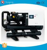 Refrigerante raffreddato ad acqua del refrigeratore della vite per la macchina dello stampaggio ad iniezione