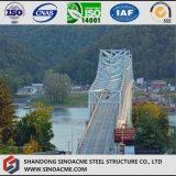 Piezas pesadas manufacturadas de la estructura de acero para el puente