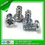 Ferragens em aço carbono de hardware PT rosca M5*25parafuso para Metal