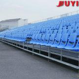 Jy-715 Bleachers van het Stadion van de Stof Tip-up Basketbal Gebruikte Gymnastiek van uitstekende kwaliteit van de Leverancier van China van de Zetel van het Platform van het Been van het Staal Plastic Draagbare