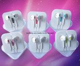Fones de ouvido intra-auriculares coloridos barato auricular estéreo mp3