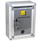 ökonomische Aluminiummailbox mit dem Verschluss-Medium klein