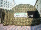 Im Freien kampierendes aufblasbares Militärentlastungs-Zelt