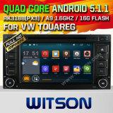Witson Android 5.1 Car DVD para VW Touareg 2002-2010 (W2-F9248V)