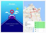 """Il """" server """" della nube ha basato il veicolo più veloce che segue il software di GPS"""
