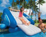 膨脹可能で自由な落下水スライド