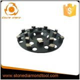 roue de meulage concrète de cuvette de diamant de segments de 180mm Turbo