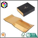 Boîte-cadeau de papier de carton de forme de livre de traction de bande